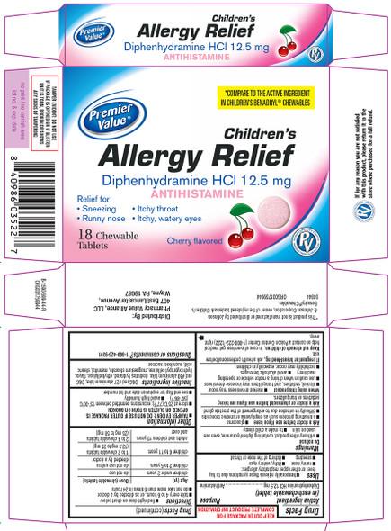 PV Children's Allergy Relief - 18 ct