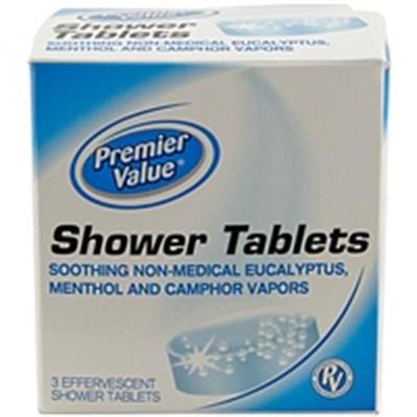 Premier Value Shower Tablets Original - 3ct