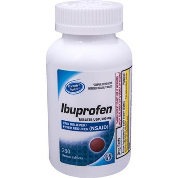 PV Ibuprofen Tablets - 250ct