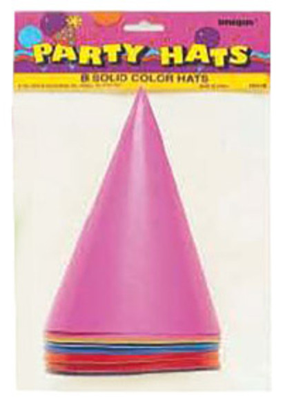 Party Hats, Party Favors - Asst, 8 ct