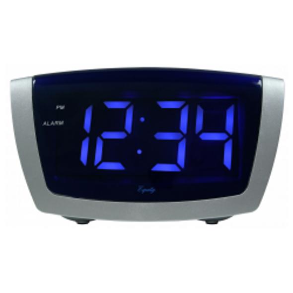 Jumbo LED Alarm Clock w/USB Port