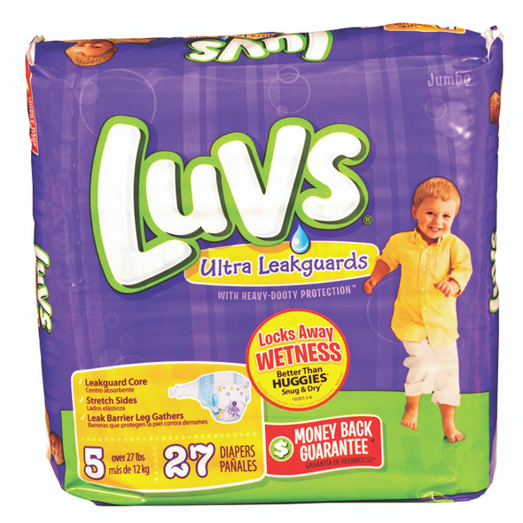 Luvs Convenience Pack Diapers 25ct - Size 5 (25 ct), 27 lb+