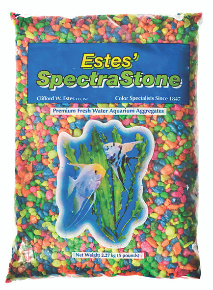 Fish Tank Aquarium Gravel - Rainbow, 5 lb