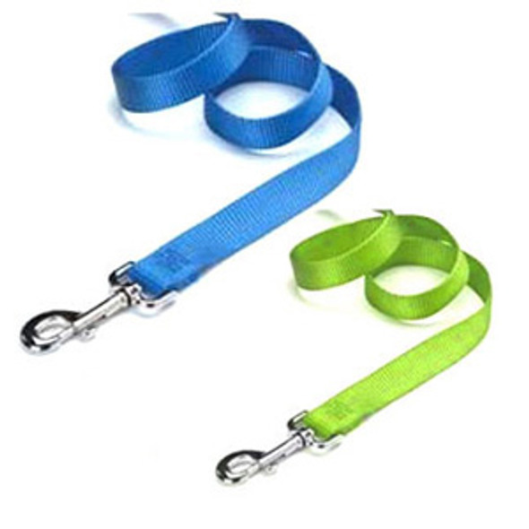 "Nylon Dog Leash - Asst, 3/4"" x 4'"