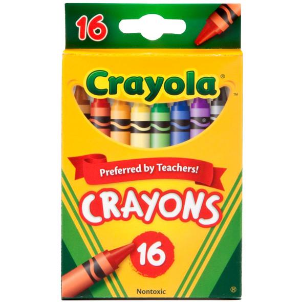 Crayola Crayons - Asst, 16 ct
