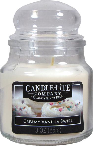Jar Candle 3 oz Vanilla Swirl - Vanilla Swirl, 3 oz.