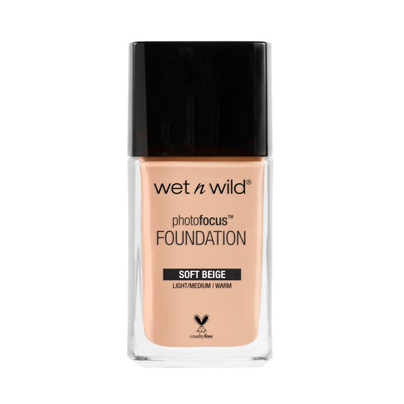 WNW Photo Focus Liquid Foundation - Soft Beige