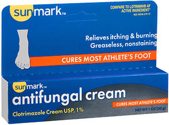 Sunmark Antifungal Cream Clotrimazole - 1 oz