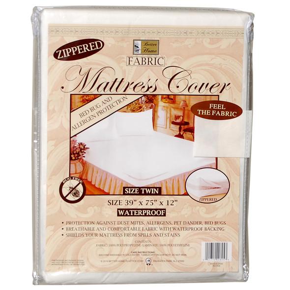 Fabric Mattress Cover Twin - Twin