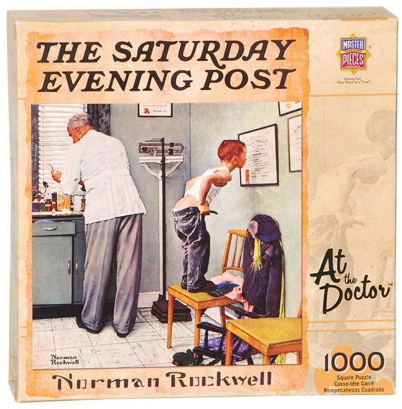 Norman Rockwell Saturday Evening Post Puzzle - 1000 pc, Asst