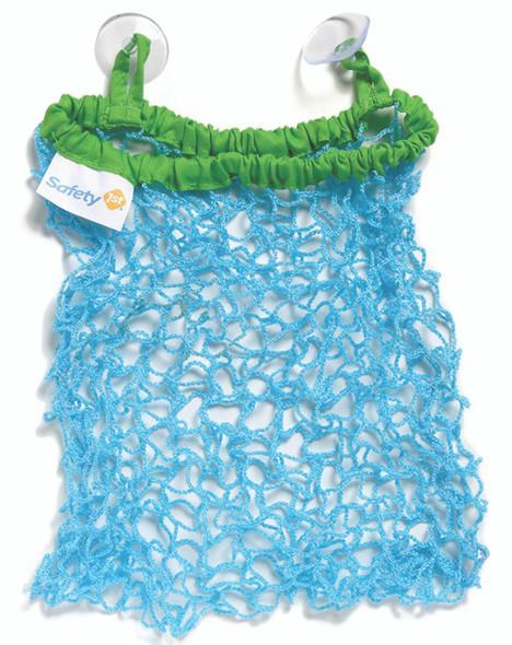 Stretch & Store Bath Toy Bag - Blue/Green