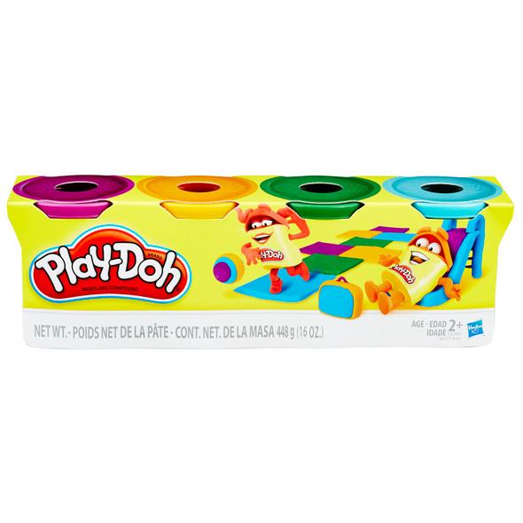 Play-Doh 4pk Bright Colors Asst - Asst, 16 oz