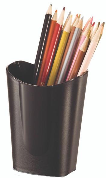 Achieva Small Desk Pencil Cup - Black, 1pk