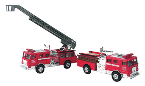 Diecast Fire Engines