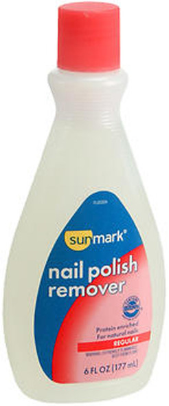 Sunmark Regular Nail Polish Remover - 6 oz