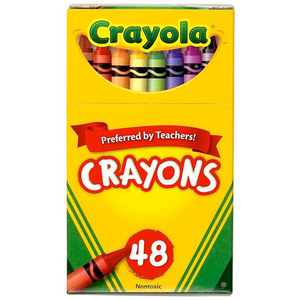 Crayola Crayons - Asst, 48 ct