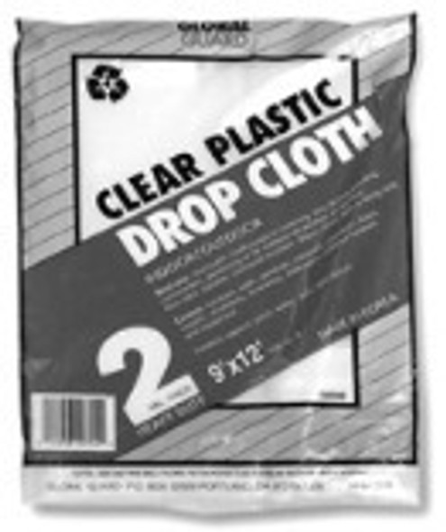Drop Cloth Heavy Weight - Clear, 9x12'