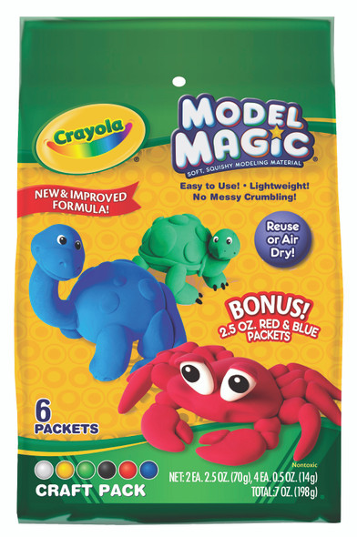 Model Magic Craft Pack - Modeling Clay