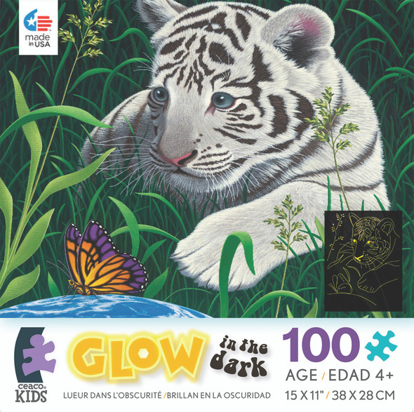 Glow In The Dark Schimmel Puzzle - 100 Pc