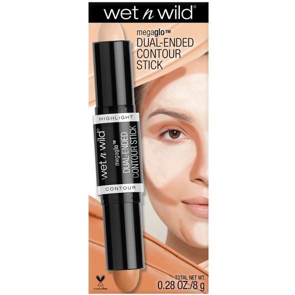 WNW Mega Glo Dual Ended Contour - Medium/Tan