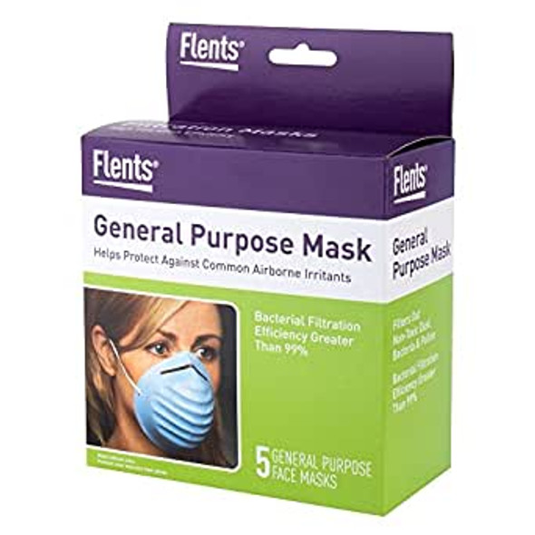 Flents General Purpose Mask - 5 ea.