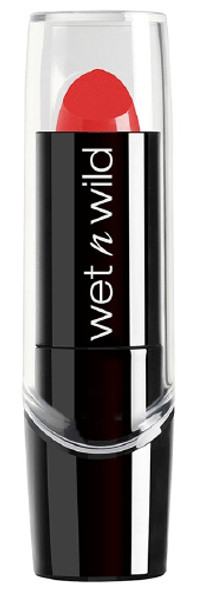 WNW Silk Finish Lipstick - Hot Red