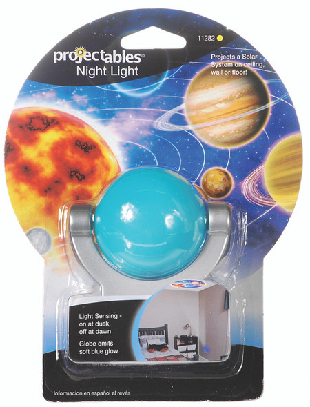 GE Planet Design LED Projecting Night Light - Light Blue