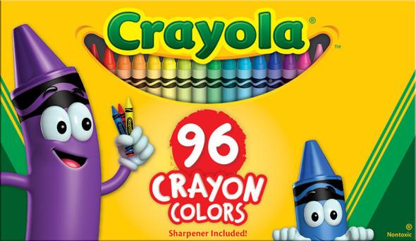 Crayola Crayons - Asst, 96 ct