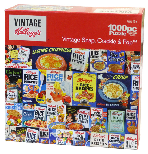 Kelloggs Retro Collage Puzzle - 1000pc, Asst