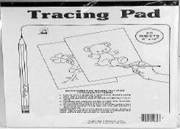 "Tracing Pads - 50 sheets, 9""x12"""