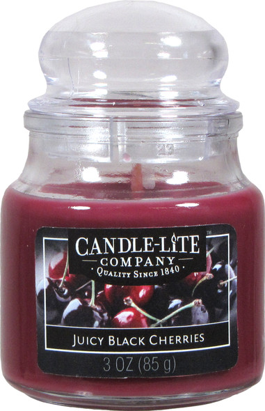 Jar Candle 3 oz Juicy Black Cherries - Juicy Black Cherries, 3 oz