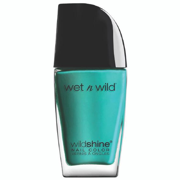 Wet N Wild  Shine Nail Polish - Be More Pacific