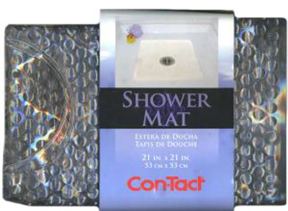 """PVC Shower Mat - 21 x 21"""""""