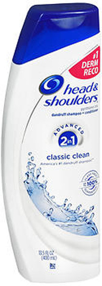 Head and Shoulders 2-in-1 Classic Clean Dandruff Shampoo + Conditioner - 13.5 oz