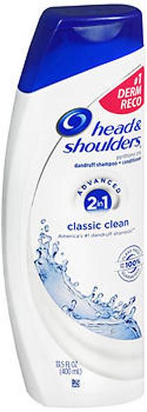 Head and Shoulders 2-in-1 Classic Clean Dandruff Shampoo + Conditioner - 13.5 oz