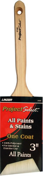 Angled Polyester Paint Brush - 3""