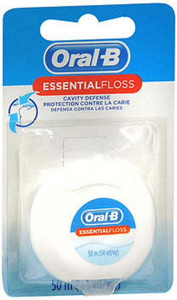 Oral-B Essential Dental Floss Waxed - each