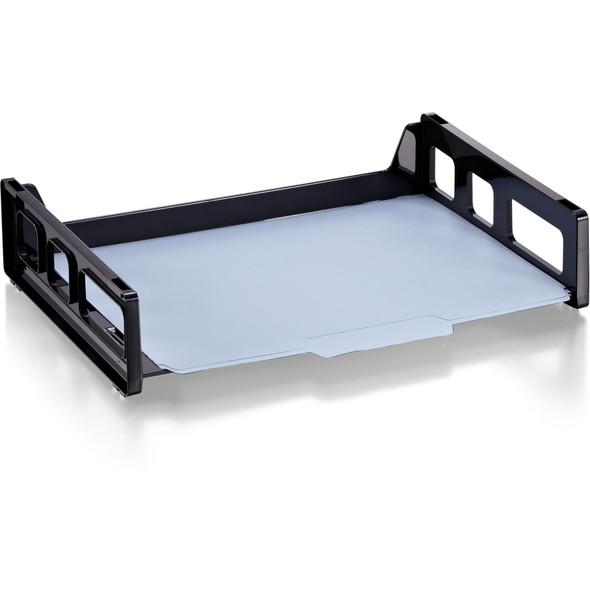 Side Load Letter Tray - Black