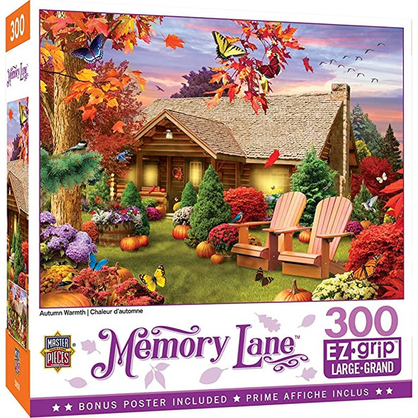 EZ Grip Memory Lane Puzzle - Asst, 300 pc