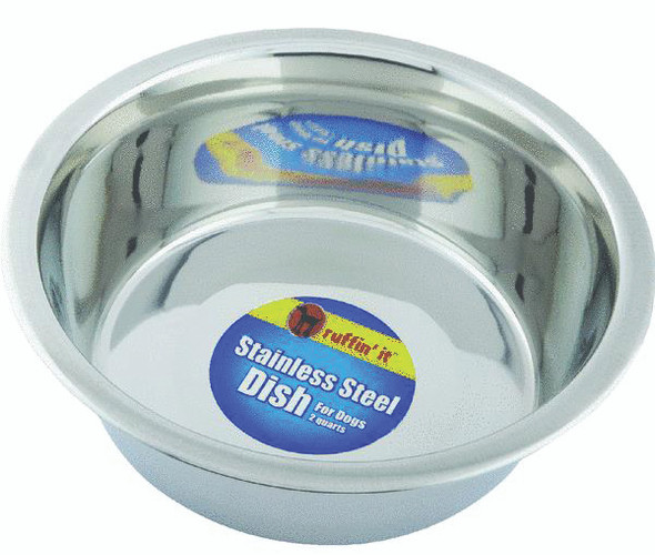 Stainless Steel Pet Bowl - Stainless Steel, 2 qt