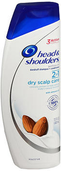 Head and Shoulders 2 In 1 Dry Scalp Care Dandruff Shampoo + Conditioner - 13.5 oz