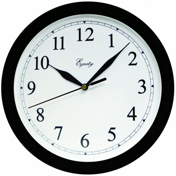 """Wall Clock - 10"""", Black"""