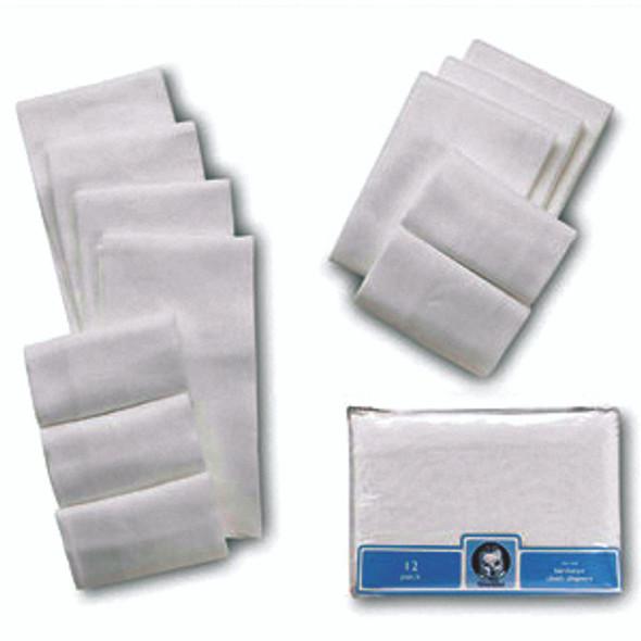 "Birdseye Flatfold Diapers - White, 24.5x27"""