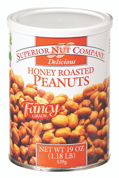 Honey Roasted Peanuts - 19 oz