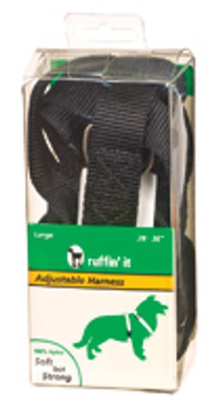 "Adjustable Nylon Dog Harness - Asst, 28-36"""