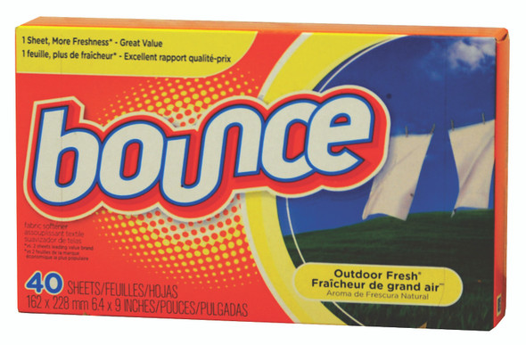Bounce Fabric Softener Sheets - Outdoor Fresh, 40 ct