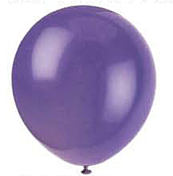 "12"" Balloon - Amethyst Purple, 12"""