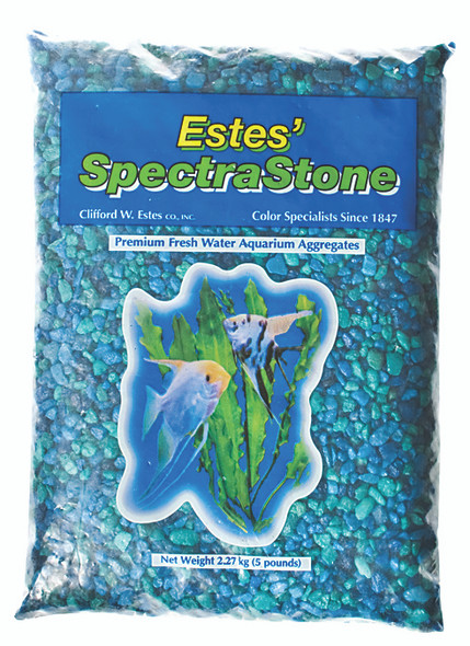 Fish Tank Aquarium Gravel - Blue Jean Blend, 5 lb