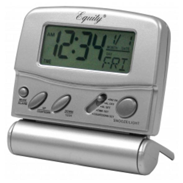 LCD Digital Travel Alarm Clock