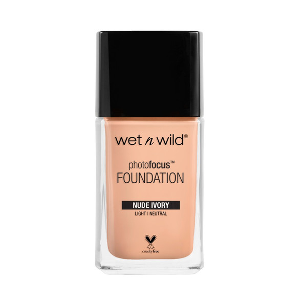 WNW Photo Focus Liquid Foundation - Nude Ivory